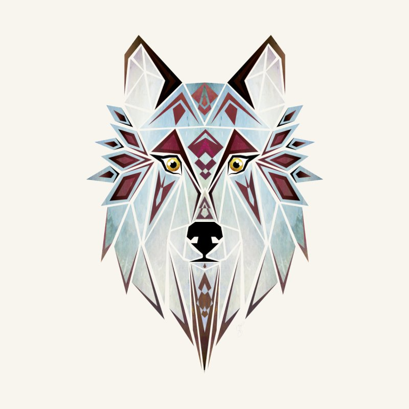 Wild wolf by manoou's Artist Shop