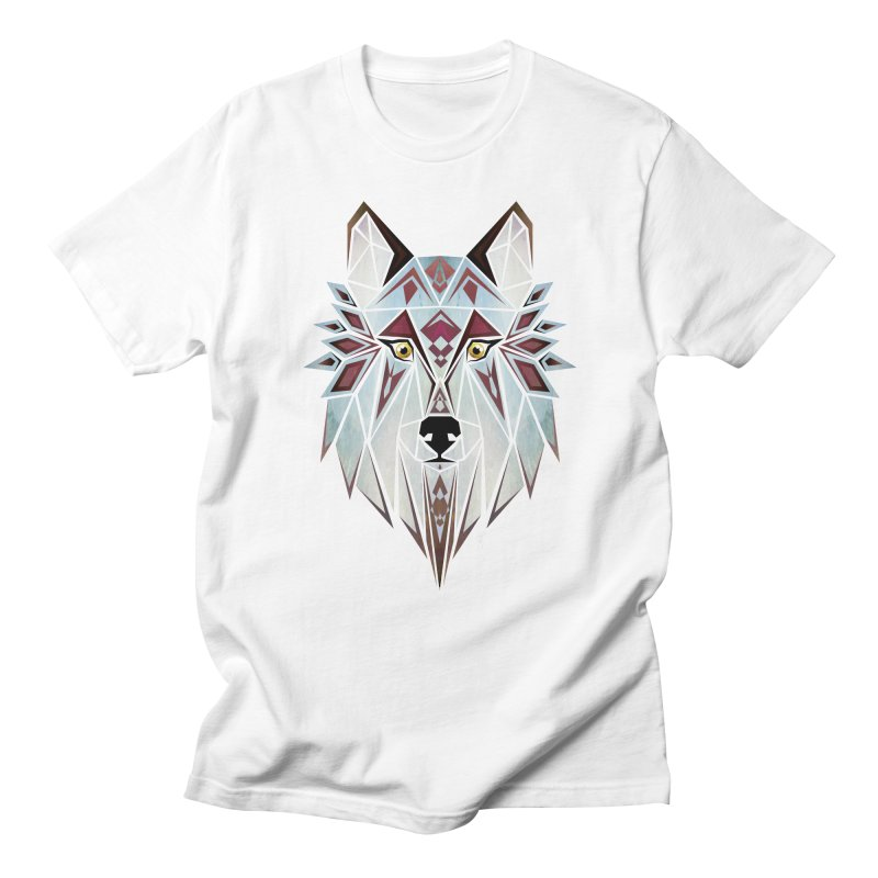 Wild wolf Women's Unisex T-Shirt by manoou's Artist Shop