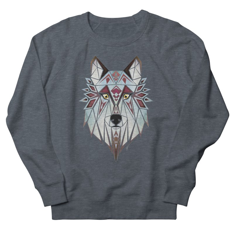 Wild wolf Women's Sweatshirt by manoou's Artist Shop
