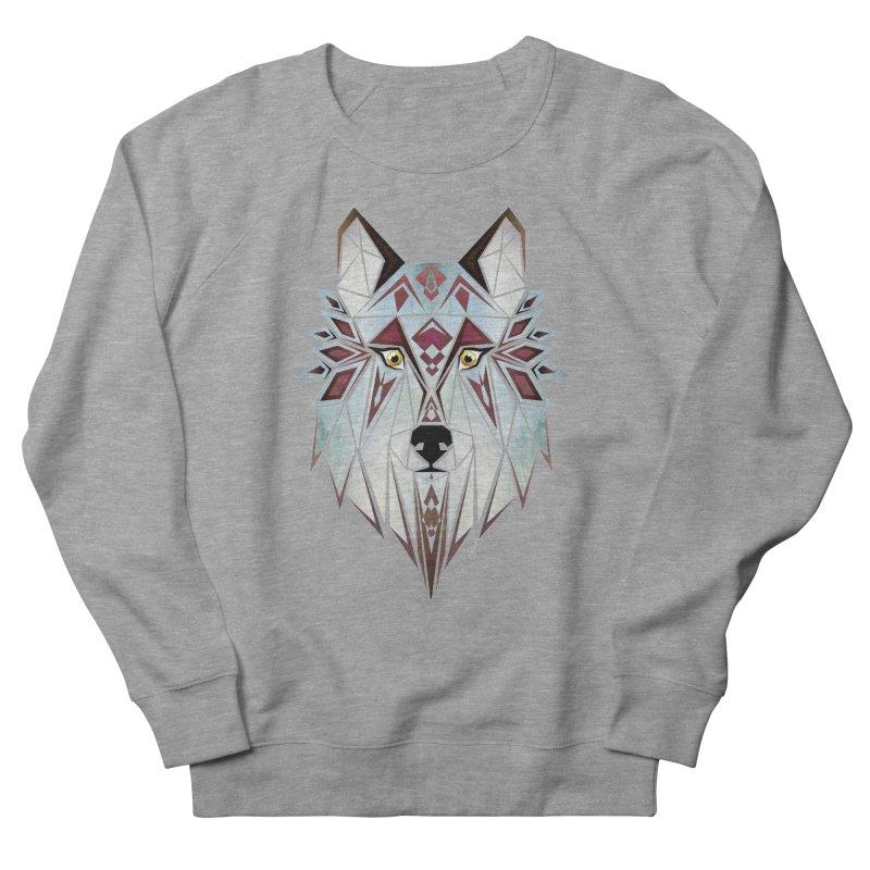 Wild wolf Women's Sweatshirt by manoou's Artist Shop