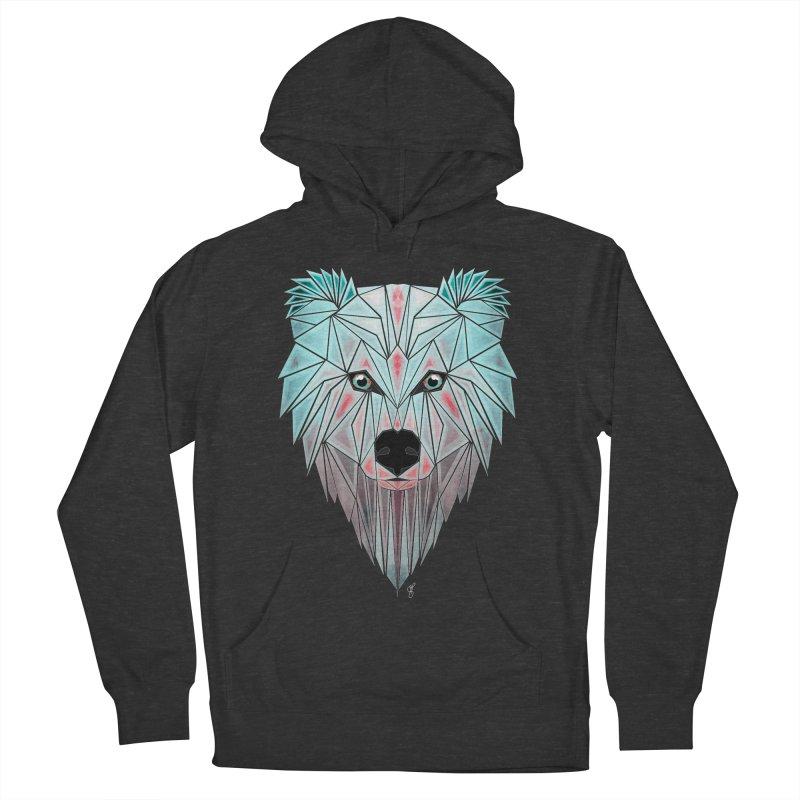 polar bear Women's Pullover Hoody by manoou's Artist Shop