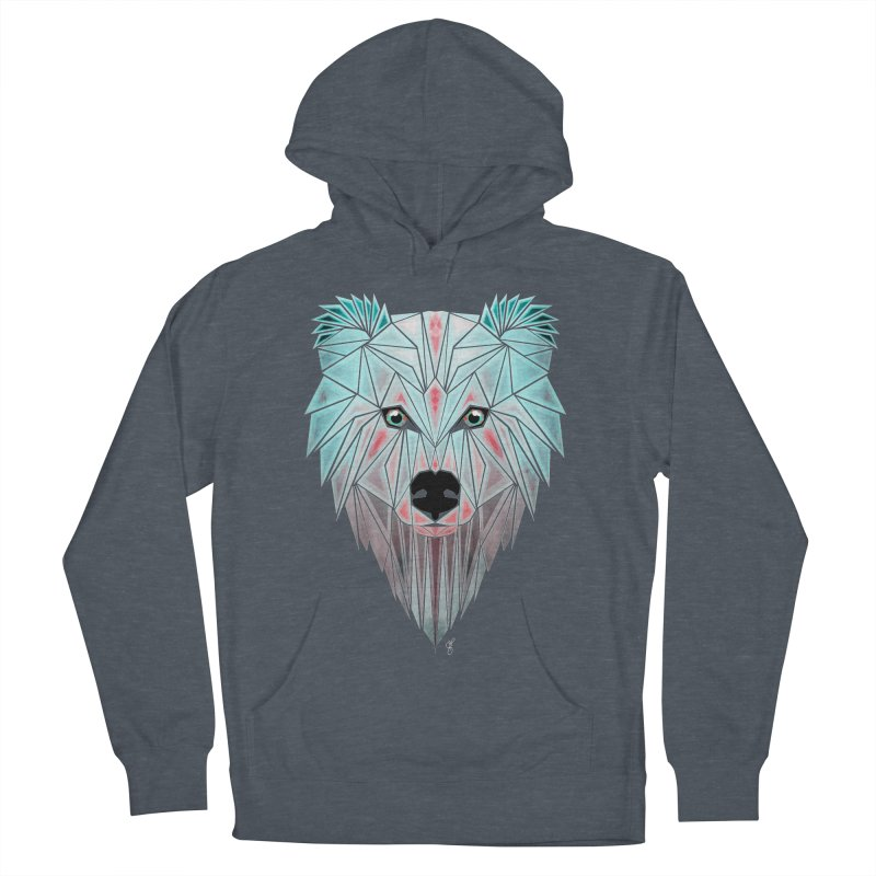 polar bear Women's Pullover Hoody by manoou's Artist Shop