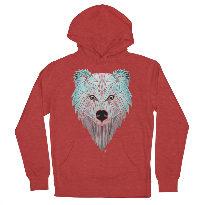polar bear Men's Pullover Hoody by manoou's Artist Shop
