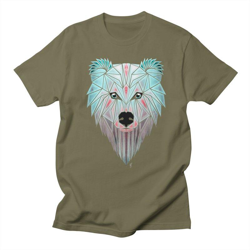 polar bear Men's T-shirt by manoou's Artist Shop