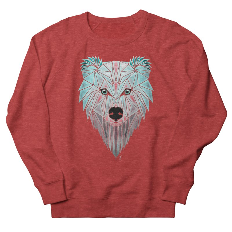 polar bear Men's Sweatshirt by manoou's Artist Shop