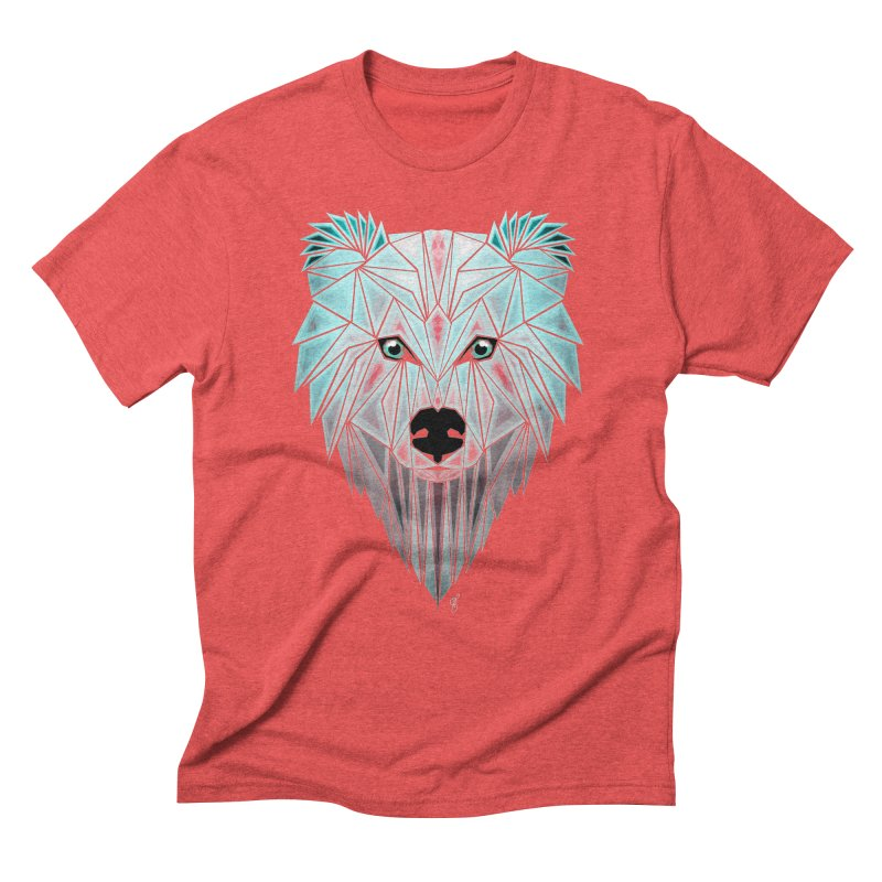 polar bear Men's Triblend T-shirt by manoou's Artist Shop