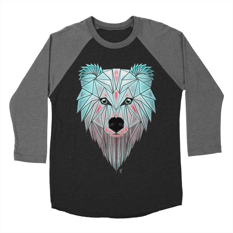 polar bear Men's Baseball Triblend T-Shirt by manoou's Artist Shop