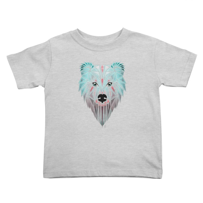 polar bear Kids Toddler T-Shirt by manoou's Artist Shop