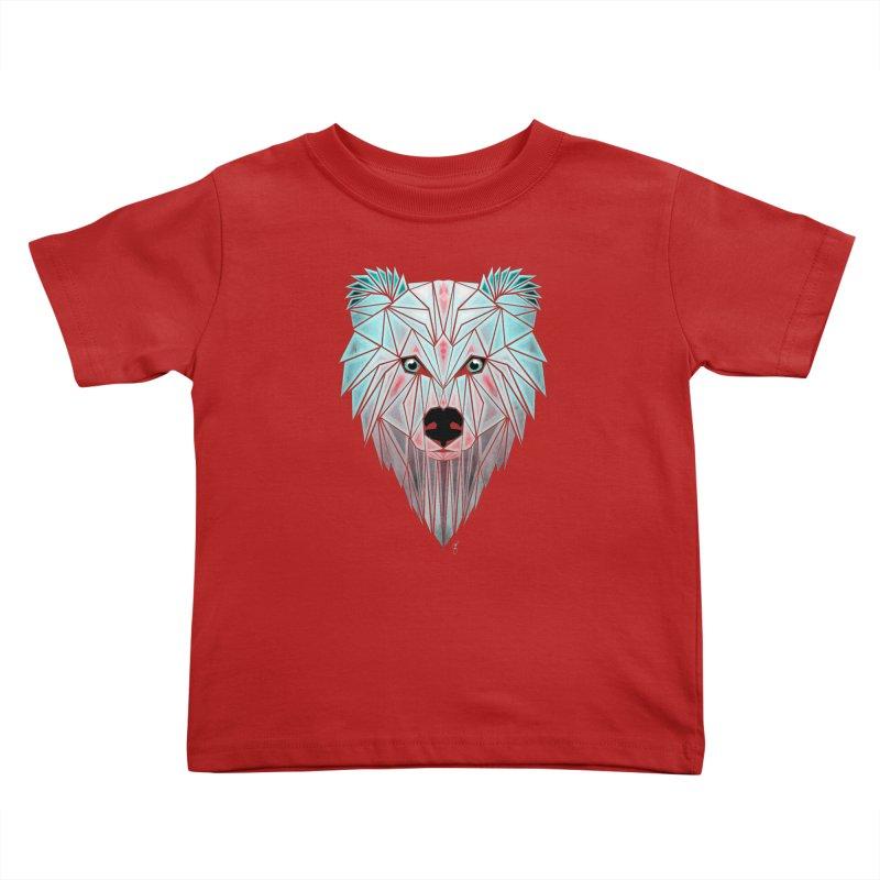 polar bear Kids Toddler T-Shirt by manoou's Artist Shop