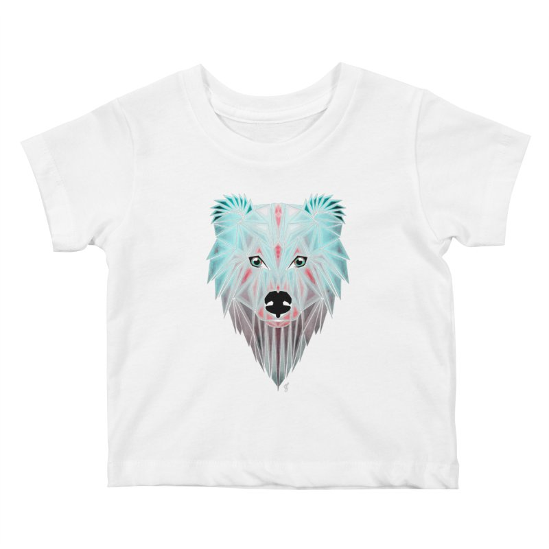 polar bear Kids Baby T-Shirt by manoou's Artist Shop