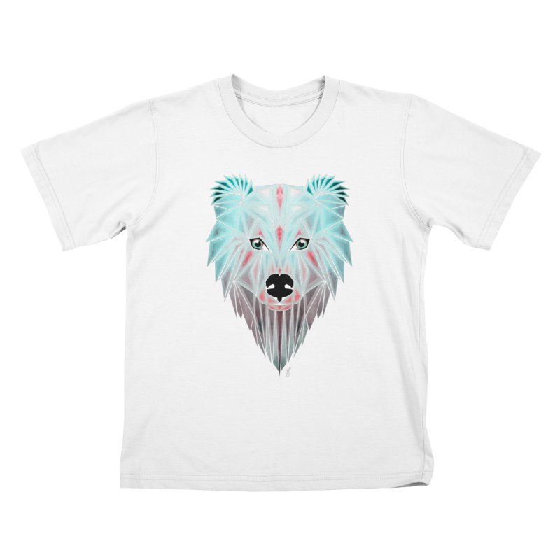 polar bear Kids T-shirt by manoou's Artist Shop