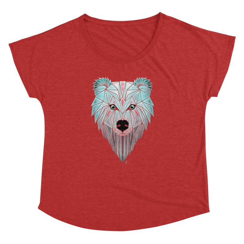 polar bear Women's Dolman by manoou's Artist Shop