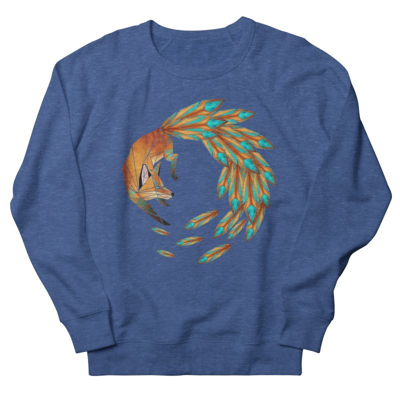 fox circle Women's Sweatshirt by manoou's Artist Shop