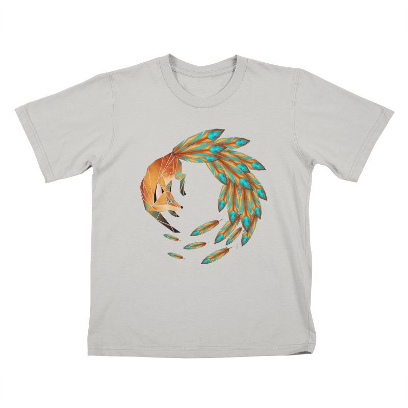 fox circle   by manoou's Artist Shop