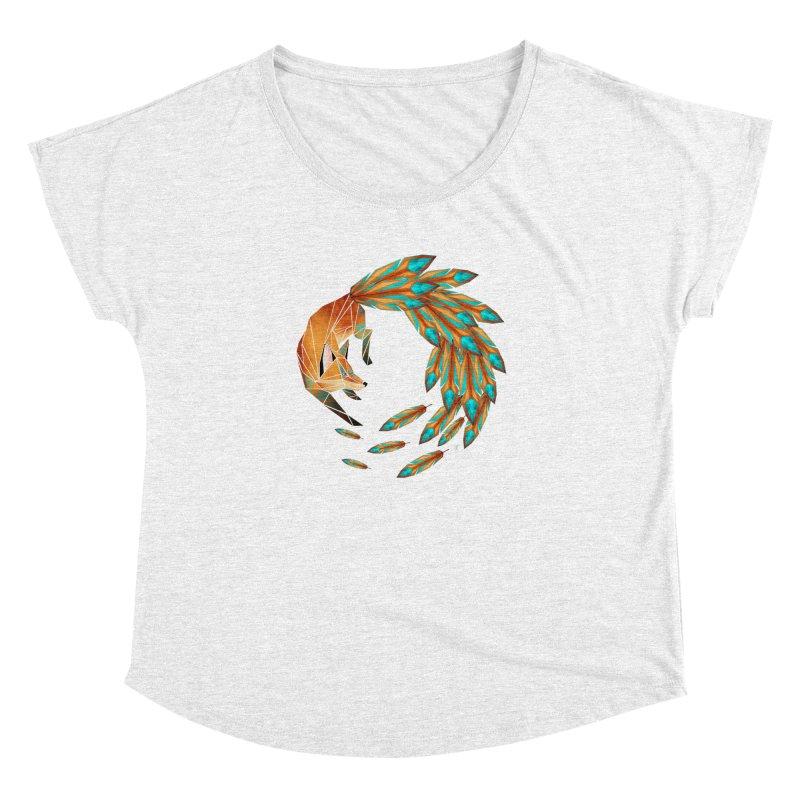 fox circle Women's Dolman by manoou's Artist Shop