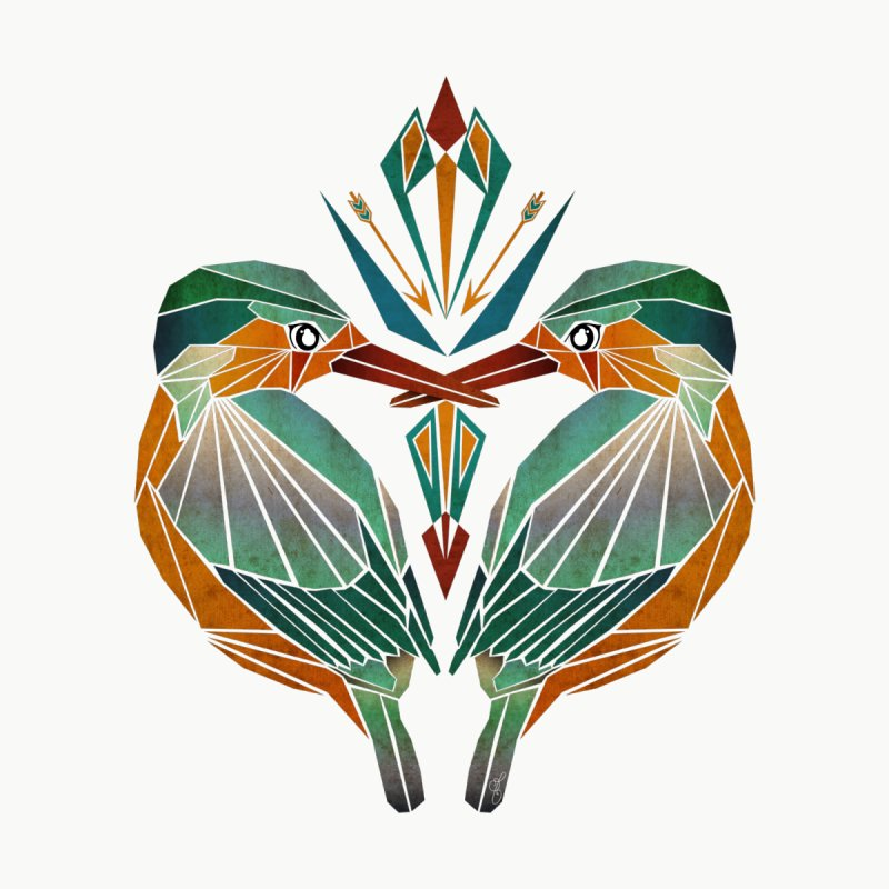 kingfisher None  by manoou's Artist Shop