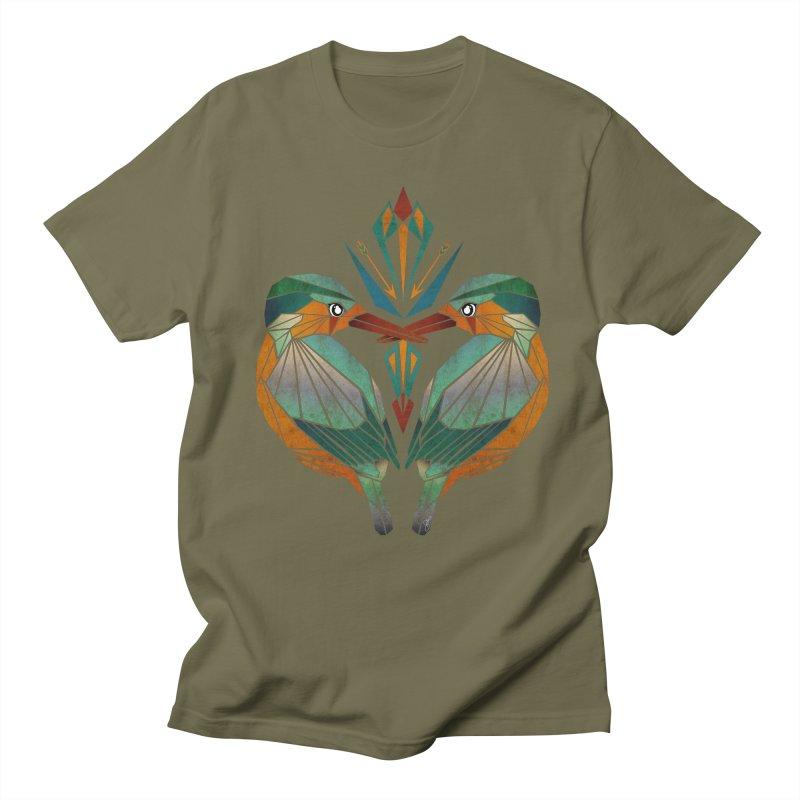kingfisher Men's T-Shirt by manoou's Artist Shop