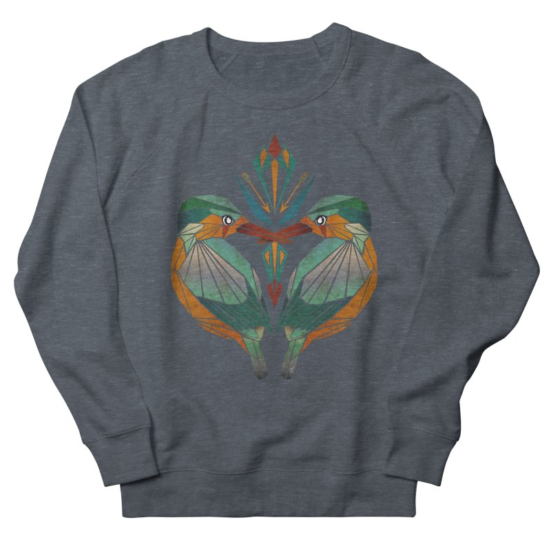 kingfisher Men's Sweatshirt by manoou's Artist Shop