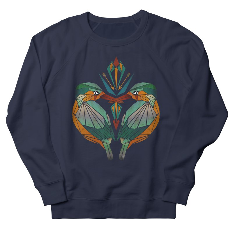 kingfisher Men's Sweatshirt by manoou's Artist Shop