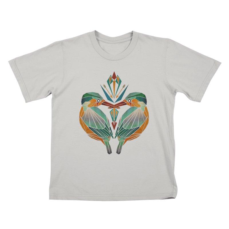 kingfisher Kids T-Shirt by manoou's Artist Shop