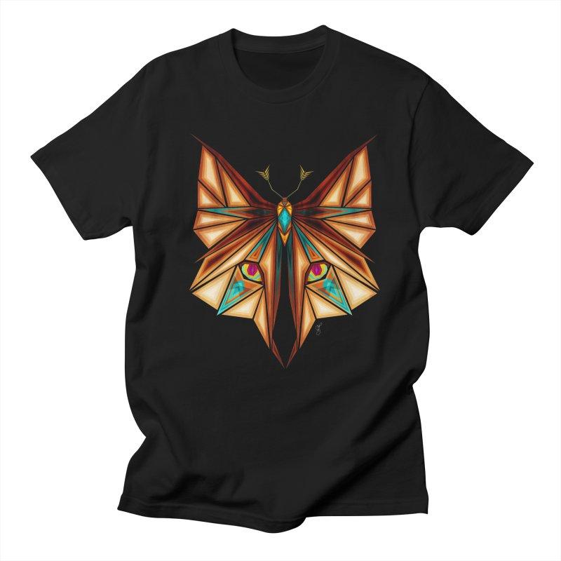fox or butterfly Men's T-shirt by manoou's Artist Shop