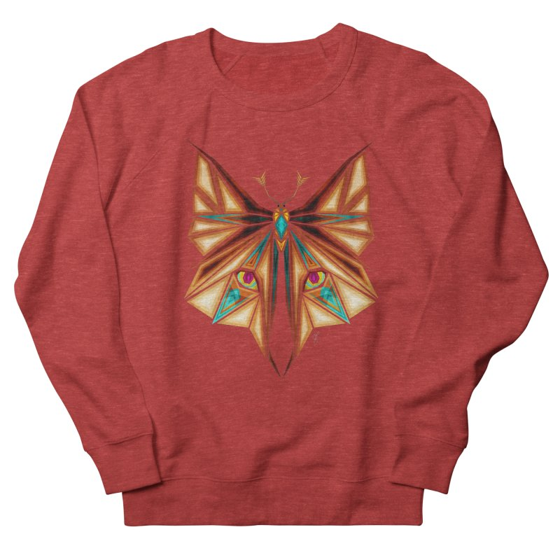 fox or butterfly Women's Sweatshirt by manoou's Artist Shop
