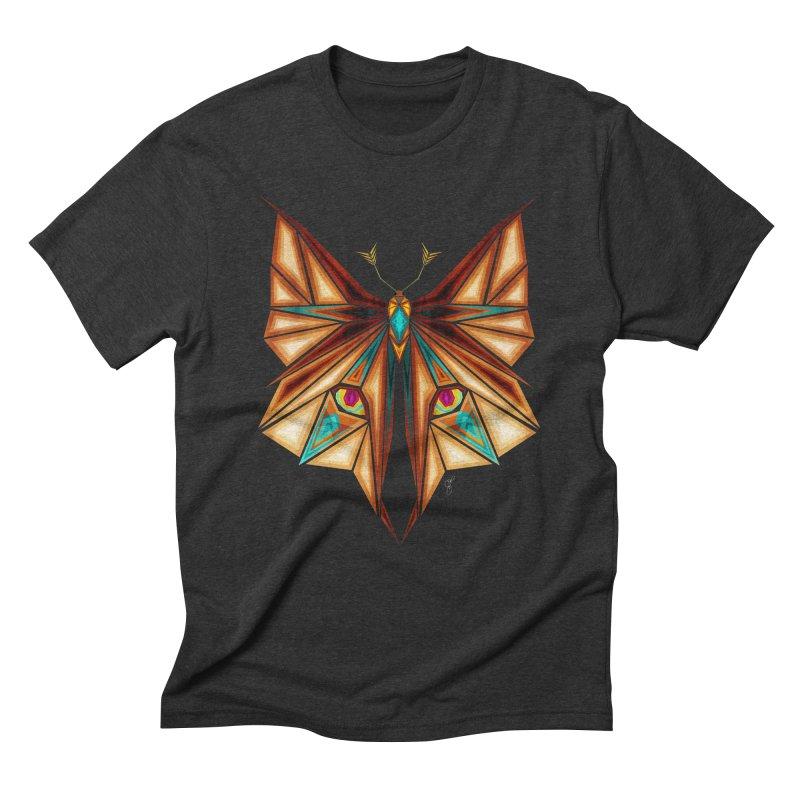 fox or butterfly Men's Triblend T-Shirt by manoou's Artist Shop