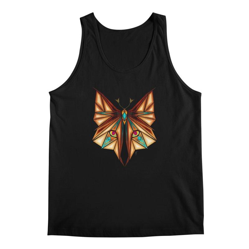 fox or butterfly Men's Tank by manoou's Artist Shop