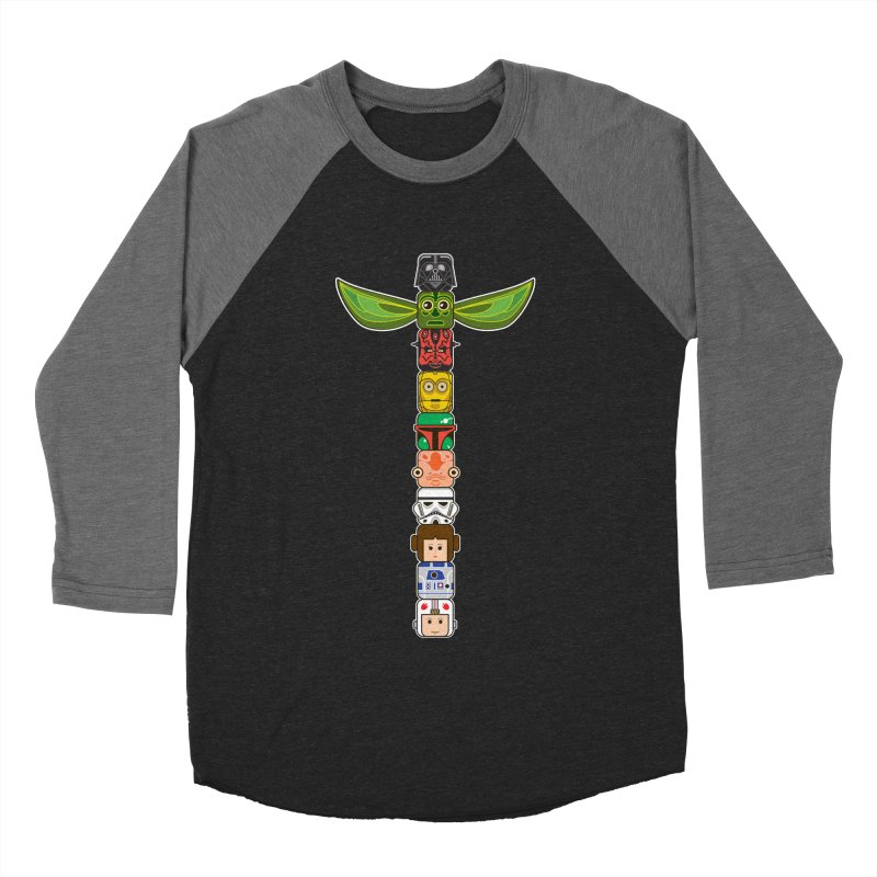 Star Wars Toetem Men's Baseball Triblend T-Shirt by manospd's Artist Shop
