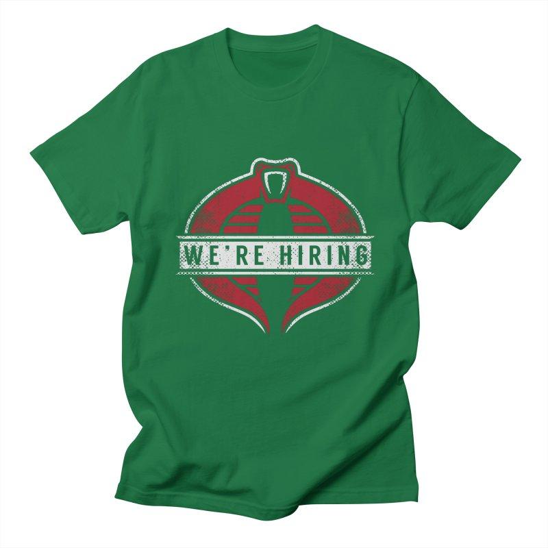 We Are Hiring Men's T-Shirt by manospd's Artist Shop