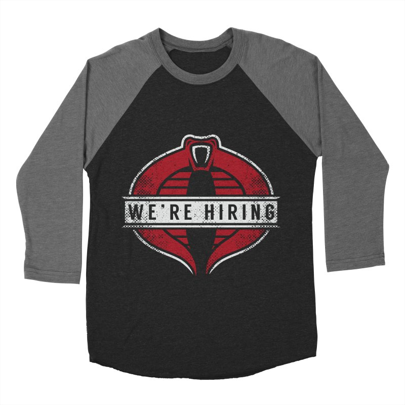 We Are Hiring Men's Baseball Triblend T-Shirt by manospd's Artist Shop