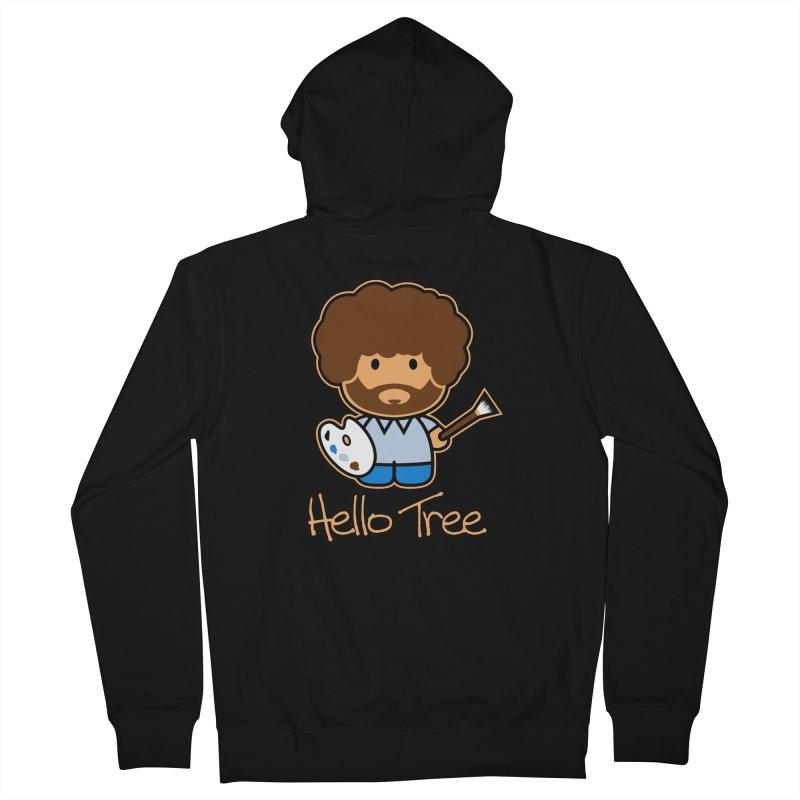 Hello Tree Men's Zip-Up Hoody by manospd's Artist Shop