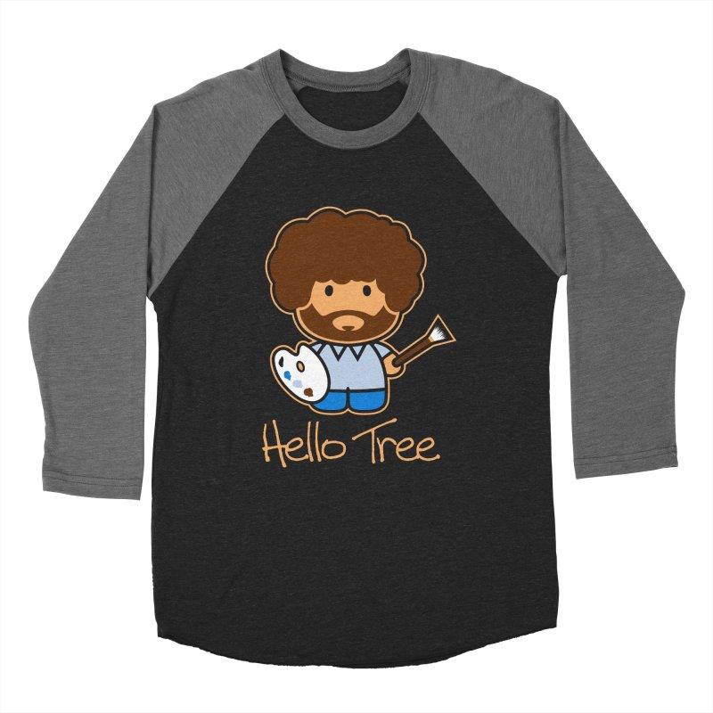 Hello Tree Men's Baseball Triblend T-Shirt by manospd's Artist Shop
