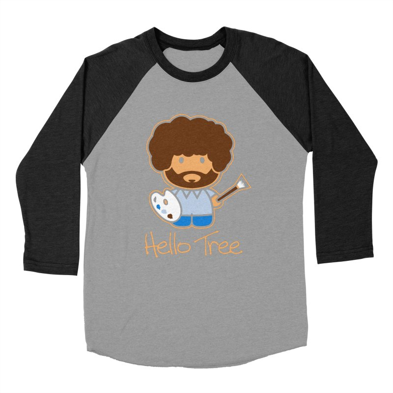 Hello Tree Men's Baseball Triblend T-Shirt by manospd's Artist Shop