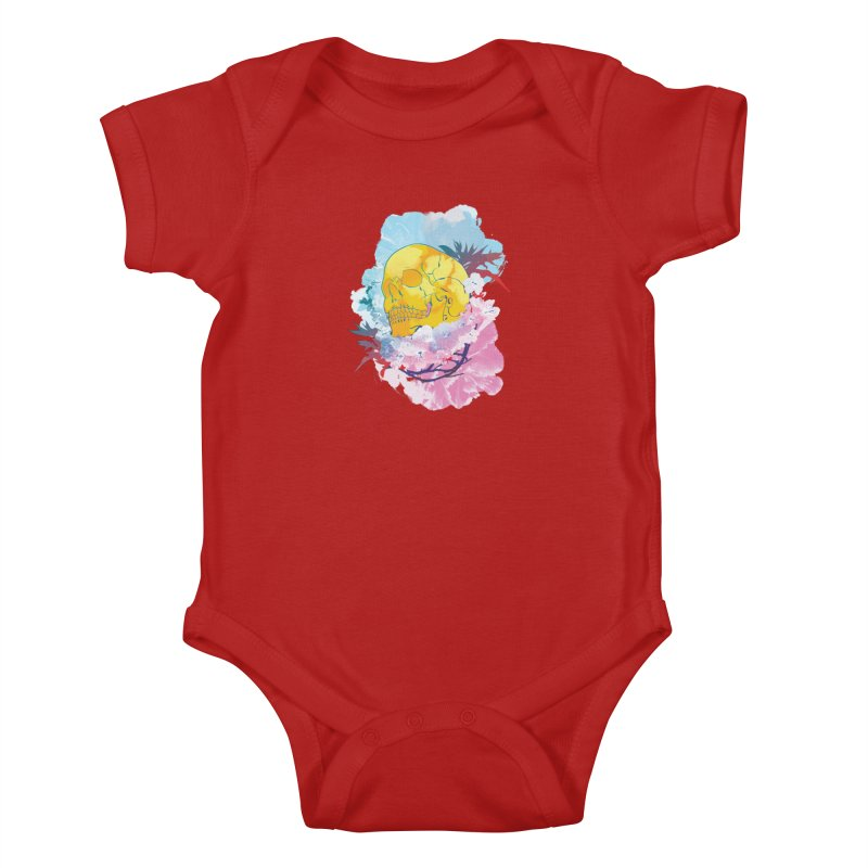 SKL-003 Kids Baby Bodysuit by Manoy's Tee Artist Shop