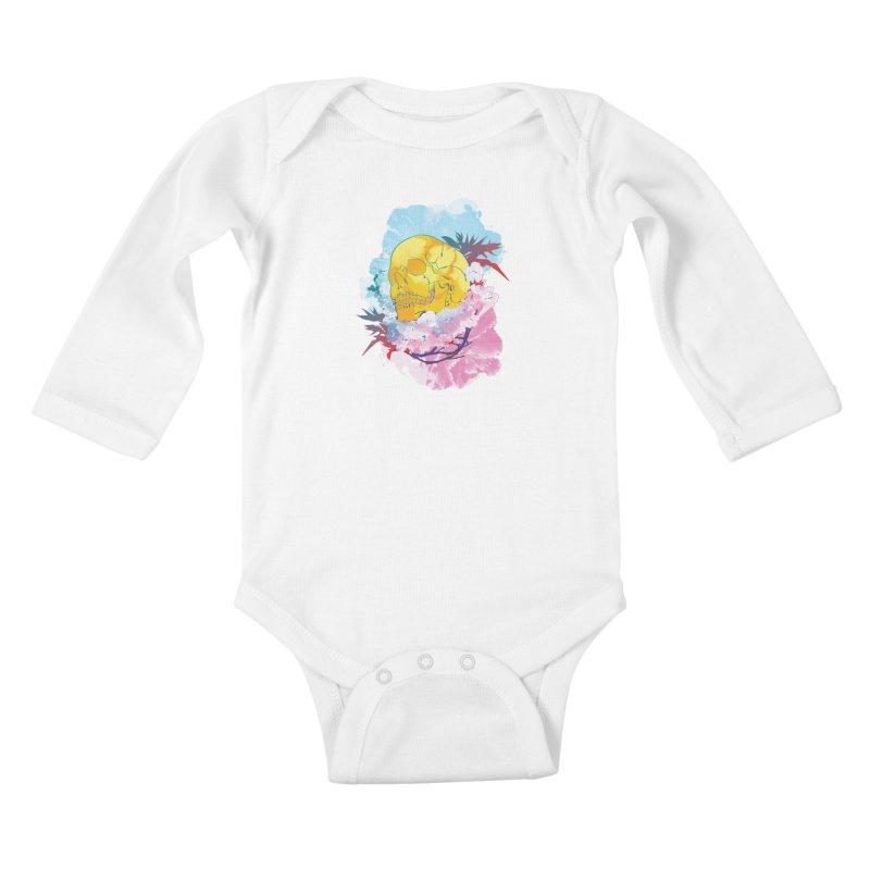 SKL-003 Kids Baby Longsleeve Bodysuit by Manoy's Tee Artist Shop
