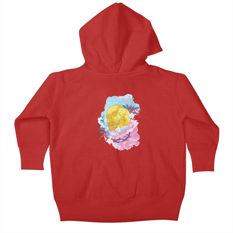 SKL-003 Kids Baby Zip-Up Hoody by Manoy's Tee Artist Shop