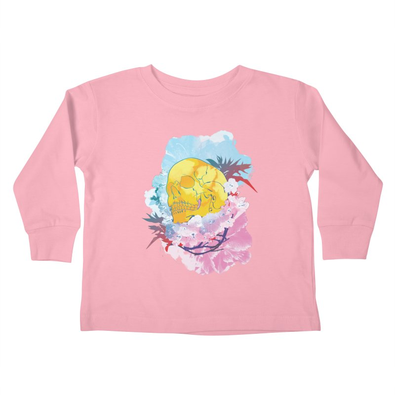 SKL-003 Kids Toddler Longsleeve T-Shirt by Manoy's Tee Artist Shop