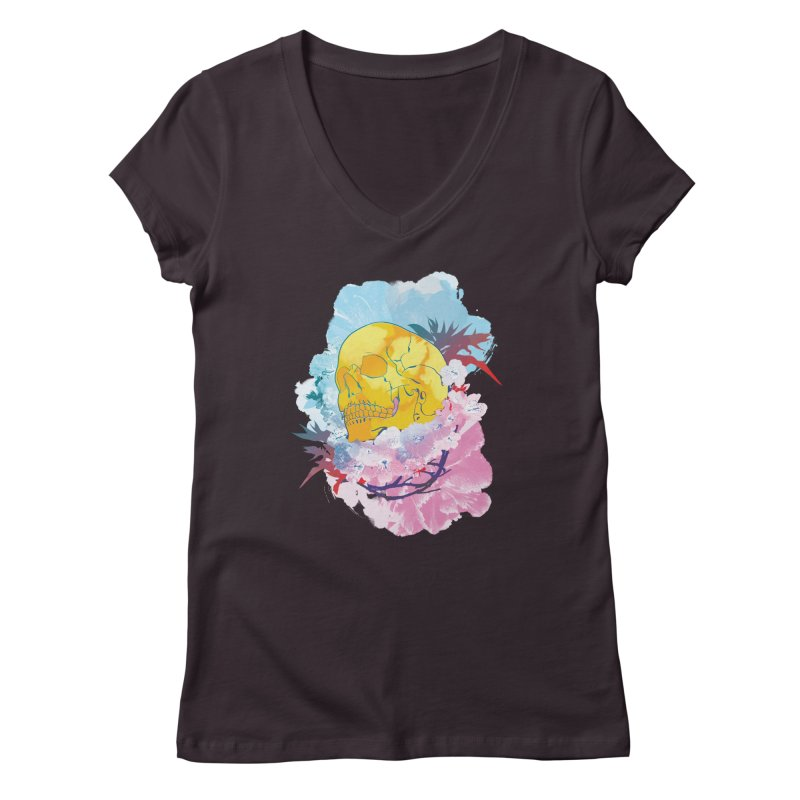SKL-003 Women's V-Neck by Manoy's Tee Artist Shop