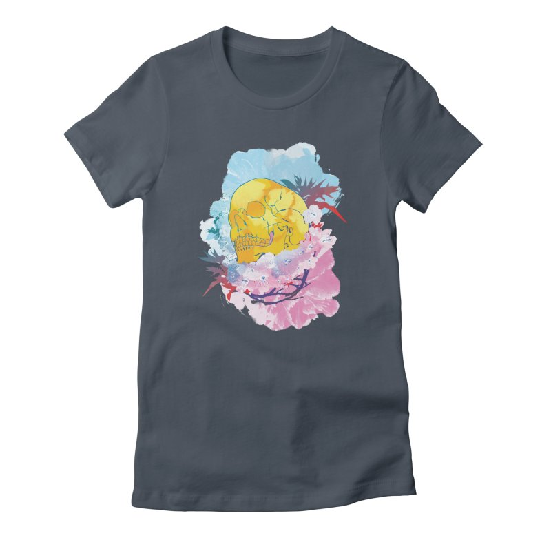 SKL-003 Women's Fitted T-Shirt by Manoy's Tee Artist Shop