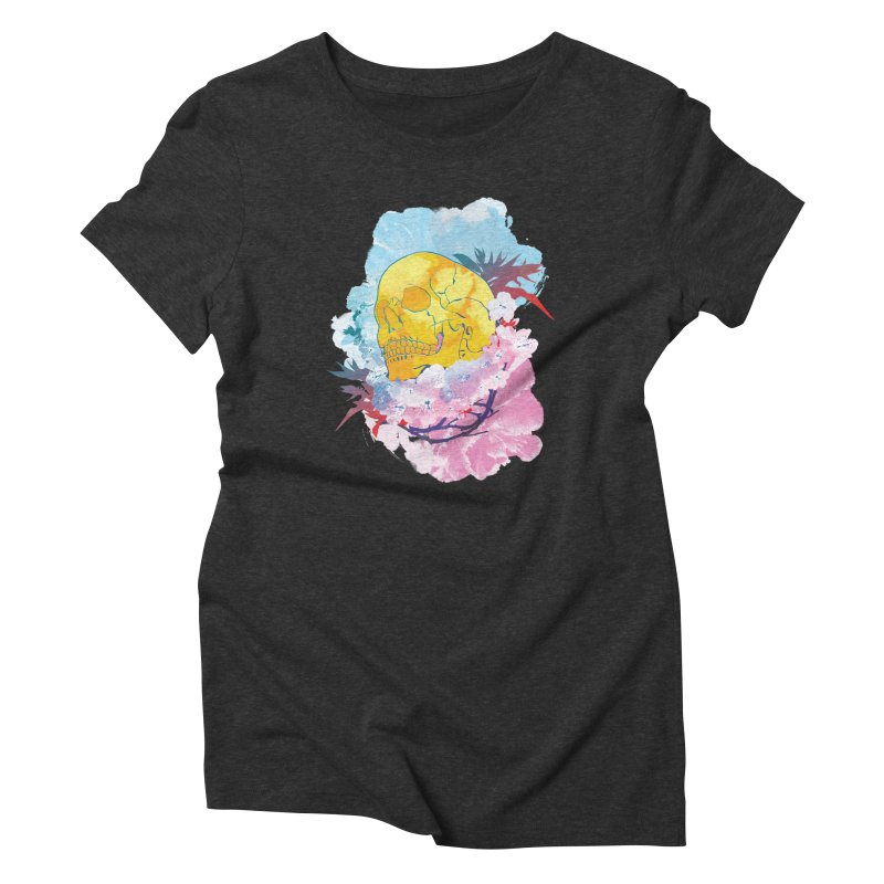 SKL-003 Women's Triblend T-shirt by Manoy's Tee Artist Shop