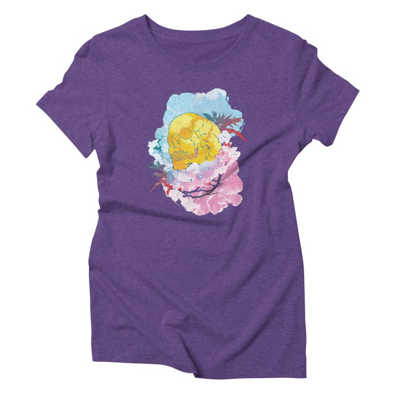 SKL-003 Women's Triblend T-Shirt by Manoy's Tee Artist Shop