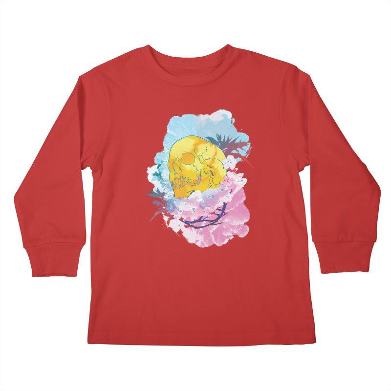 SKL-003 Kids Longsleeve T-Shirt by Manoy's Tee Artist Shop