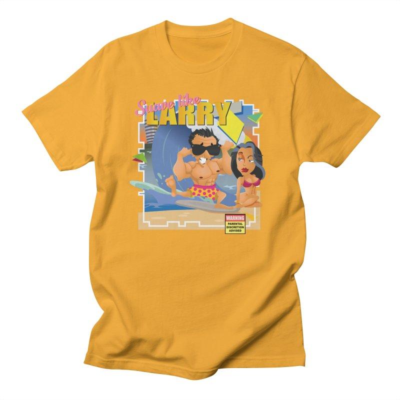 Suave like Larry Men's T-Shirt by Mansemat & Moloch