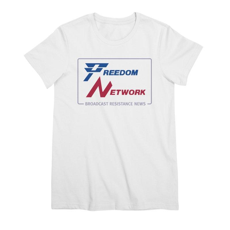 Freedom Network Women's T-Shirt by Mansemat & Moloch
