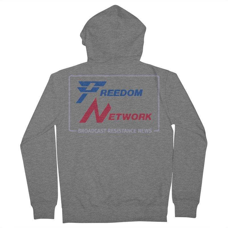Freedom Network Women's Zip-Up Hoody by Mansemat & Moloch