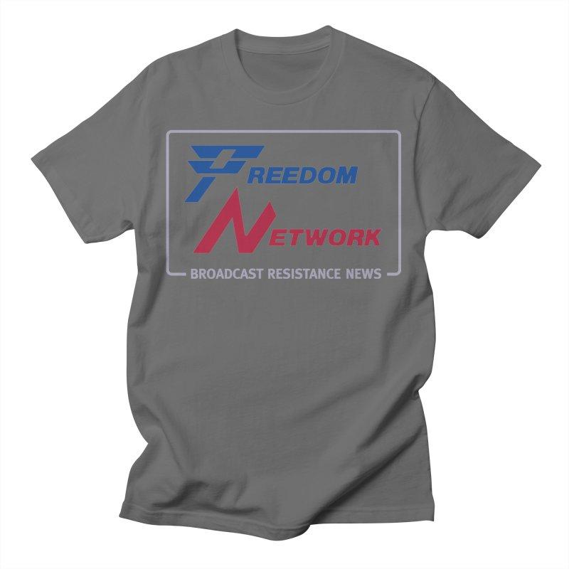 Freedom Network Men's T-Shirt by Mansemat & Moloch