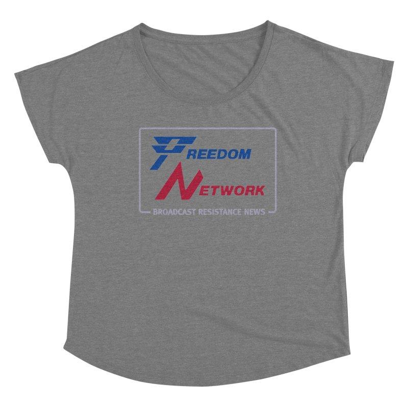 Freedom Network Women's Scoop Neck by Mansemat & Moloch