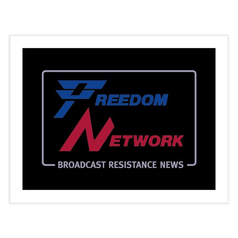 Freedom Network Home Fine Art Print by Mansemat & Moloch