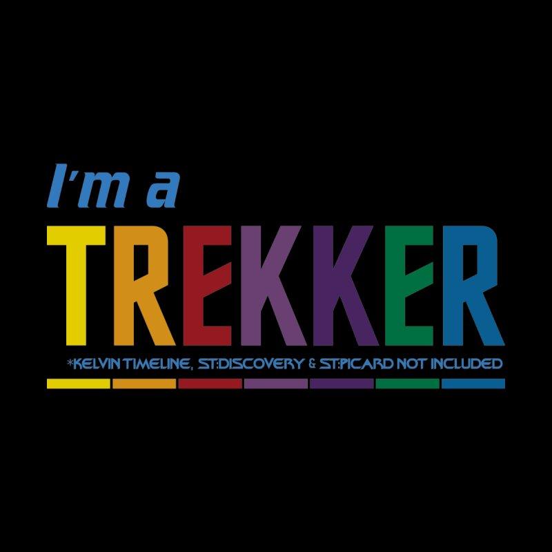 I'm a Trekker Women's T-Shirt by Mansemat & Moloch